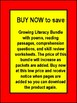 Literacy Growing Bundle Poems Reading Passages Comprehensi