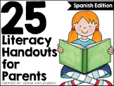 Literacy Handouts for Parents {Spanish Edition}