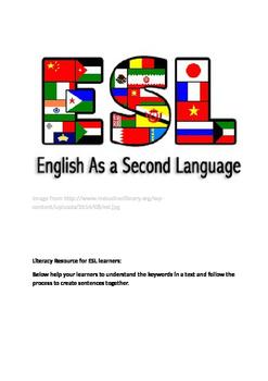 Literacy Help ESL learners