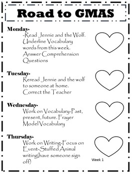 {Growing Bundle} Daily Reading Homework