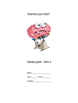 Literacy Homework Booklet No. 2