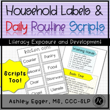 Literacy House Labels