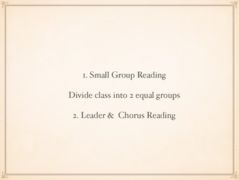 Literacy- How Many, How Much Choral Reading Scripts