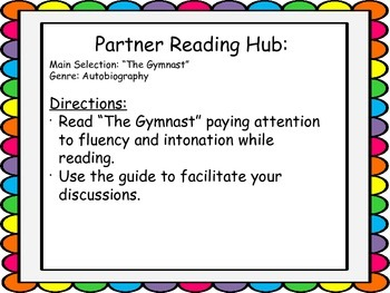 Literacy Hubs for Station Teaching: Gr 5 Reading Street U4W5