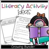 Literacy Ideas Binder