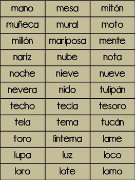 Literacy Initial Sound Game in Spanish- Thanksgiving Theme