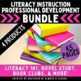 Literacy Instruction Professional Development Bundle