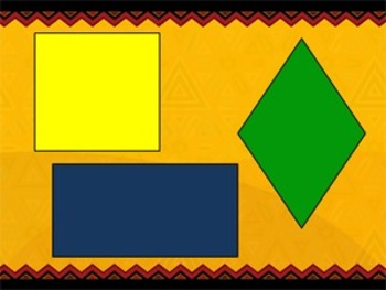 (Literacy Integrated) Geometry with African Shapes Lesson Plan Bundle