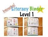 Interactive Literacy Binder Level 1