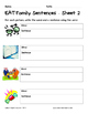 Literacy Interactive Notebook Pages - EAT Word Family