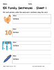 Literacy Interactive Notebook Pages - EN Word Family