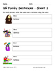 Literacy Interactive Notebook Pages - UN Word Family