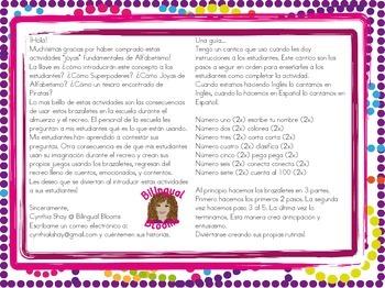 Literacy Jewels: Letter Bracelets!
