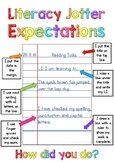 Literacy Jotter Work Expectations Poster