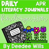 Literacy Journal Prompts for Kindergarten | Apr