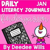 Literacy Journal Prompts for Kindergarten | Jan