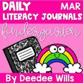 Literacy Journal Prompts for Kindergarten | Mar