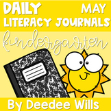 Literacy Journal Prompts for Kindergarten | May