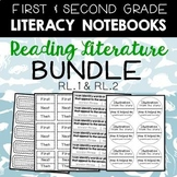 Literacy Notebooks: Reading Literature Bundle for 1st and 2nd Grade