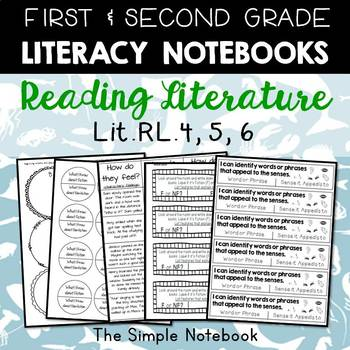 Literacy Notebooks: Reading Literature RL.4,5,6