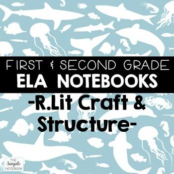 Literacy Notebooks: Reading Literature RL.4,5,6