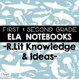 Literacy Notebooks: Reading Literature RL.7-10