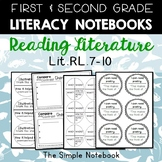 Literacy Notebooks: Reading Literature RL.7-10