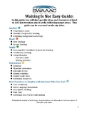 Literacy Kit - Waiting Is Not Easy