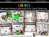 Literacy Kits Individual Learning Kits for Social Distancing