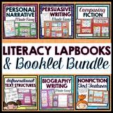 Literacy Lapbooks GROWING Bundle