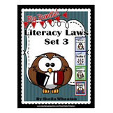 Literacy Laws Bundle - Set 3: Reading & Writing Tools for Young Students