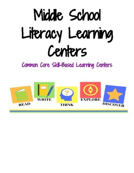 Literacy Learning Centers: Plot, Figurative Language, & Perspective