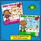 Ocean Themed BUNDLE of Literacy Learning Games