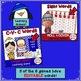 Literacy Learning Games BUNDLE - Penguin Theme