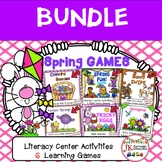 Literacy Learning Games - Spring Theme