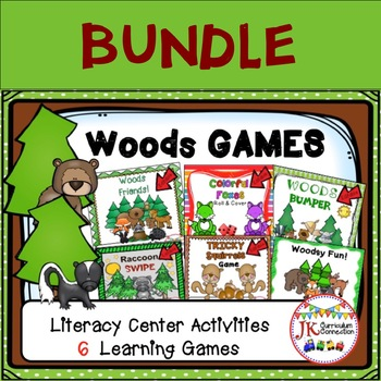 Literacy Learning Games - Woods Theme