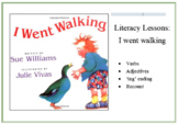 Literacy Lesson: I went walking ES1