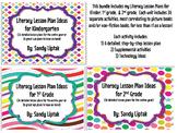 Literacy Lesson Plan Bundle