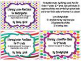 Literacy Lesson Plan Bundle K-2