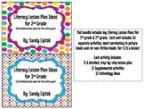 Literacy Lesson Plan Bundle 2nd & 3rd Grade