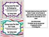 Literacy Lesson Plan Bundle for Kinder & 1st Grade