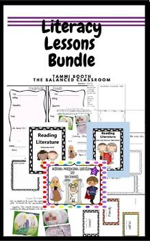 Literacy Lessons Bundle