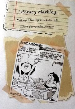 Literacy Marking Making Marking Work For You