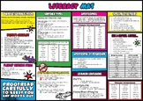 Literacy Mat to support students with literacy across the