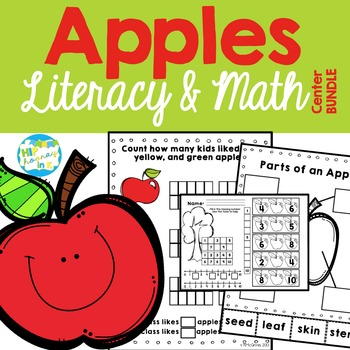 Literacy & Math Centers APPLES