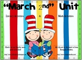 Literacy Math Centers & Activities for March