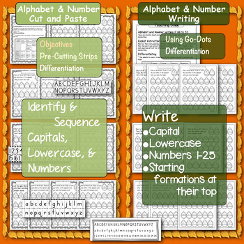 Literacy, Math, Fine-Motor, Executive Functioning: November Skill Builders