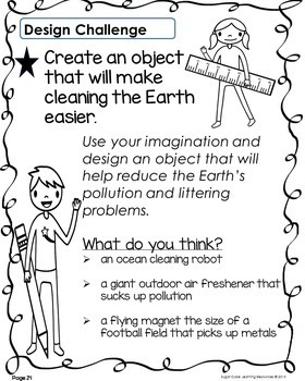 Literacy, Math & S.T.E.M. Activities to Celebrate Earth Day!