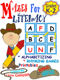 Mazes For Word Families are Engaging and Hands-On Fun