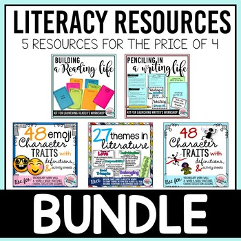 Literacy Mega Bundle Tarheelstate Teacher
